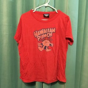 Retro Hawaiian Punch Shirt.